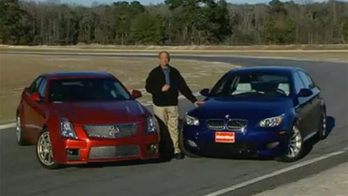 BMW M5 vs. Cadillac CTS-V: The 4-Door Duel