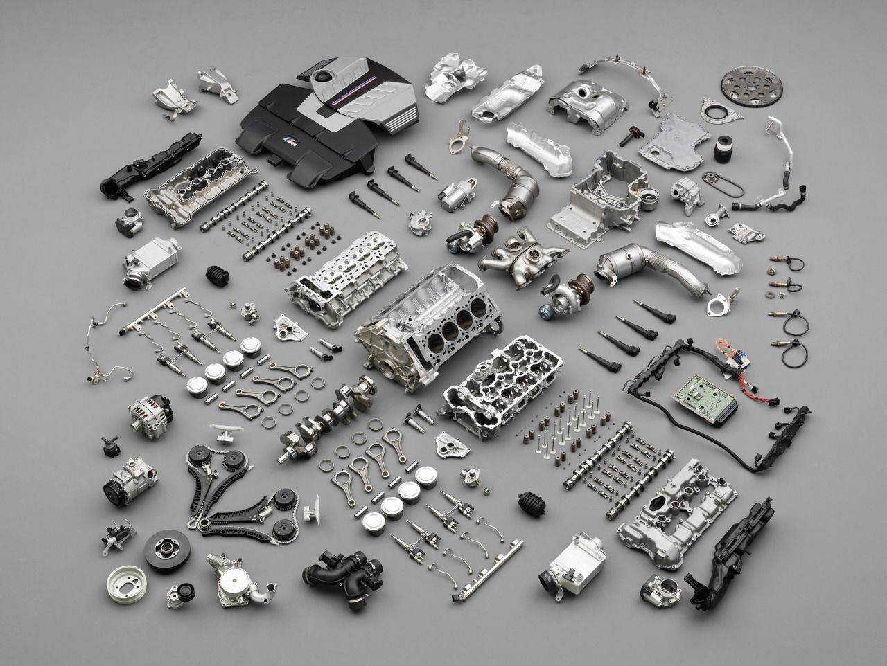 Bmw X6m Engine Parts Exploded