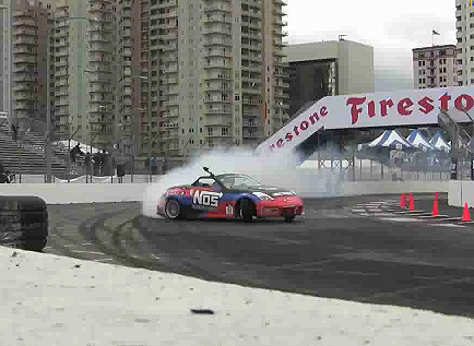 Formula D Long Beach Qualifying Non-Stop Drifting Video
