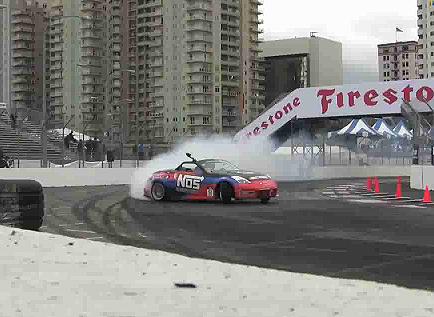Formula D Long Beach Qualifying Non-Stop Drifting Video