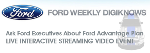 Ask Ford Executives About Ford Advantage Plan – LIVE CHAT & VIDEO