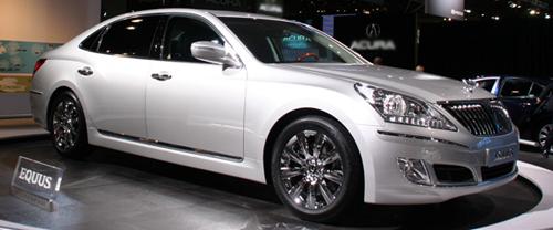 2009 New York International Auto Show: Hyundai Equus