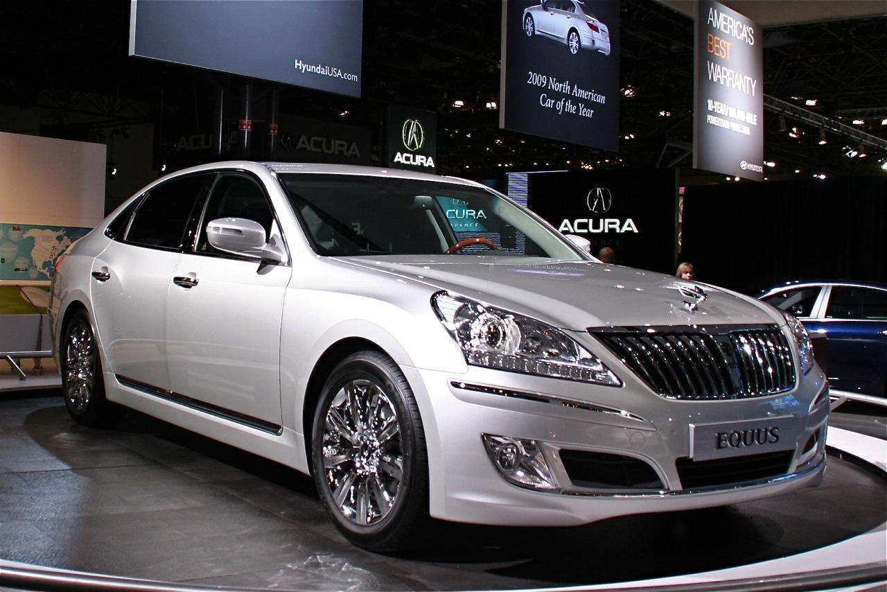 New BMW 7 Series >> 2009 New York International Auto Show: Hyundai Equus