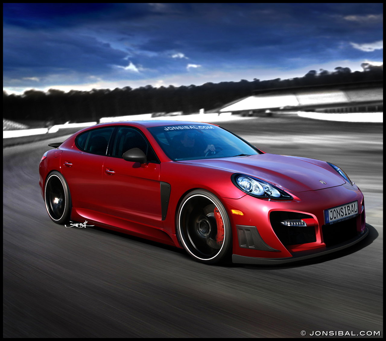 Porsche Panamera Car