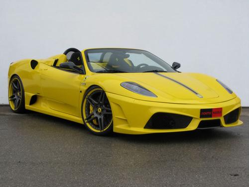 Ferrari F430 Spider Black. the Ferrari F430 Scuderia