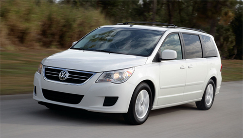Major Fail: VW Badged Chrysler Caravan – No More VW Routan