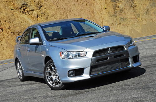 2008 Mitsubishi Lancer Evolution MR Review & Test Drive