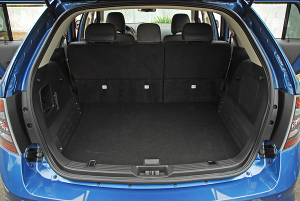 Ford Edge Cargo Space Dimensions