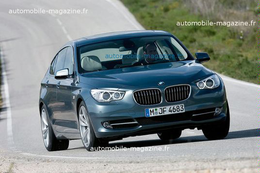 2010 bmw 5 series gt official images leaked. Black Bedroom Furniture Sets. Home Design Ideas
