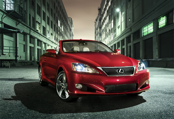 Inside Line: 2010 Lexus IS 350C Convertible First Drive