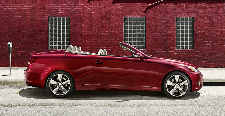 Lexus Is 350C >> Inside Line: 2010 Lexus IS 350C Convertible First Drive