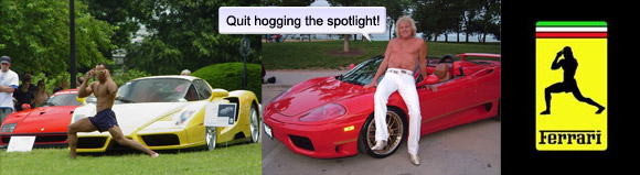 Enzo Dude, Step Aside – There's A New Ferrari Guy In Town – Tony Tag