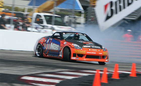 Formula Drift Long Beach Highlights Video