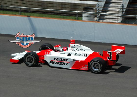 Helio Castroneves Team Penske Wins Indianapolis 500