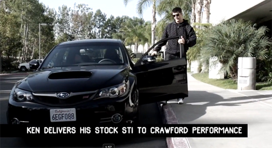 Ken Block Gymkhana 2 WRX STI Build Video