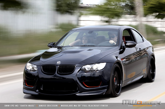 MWDesign Darth Maul BMW E92 M3