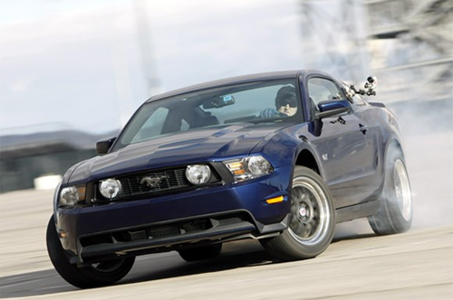 American Muscle Hits The Ebisu Circuit – Mustang Ebisu Dorifto