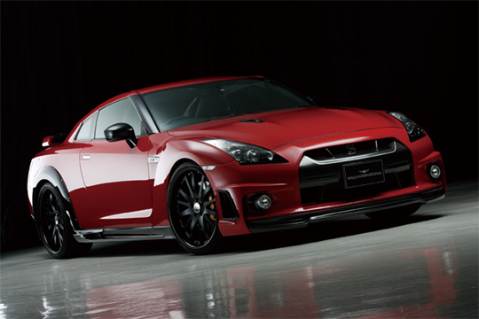 Wald Introduces Body (Aero) Kits for the Nissan GT-R
