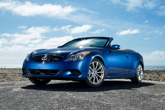 2009 Infiniti G37 Convertible Pricing Starting at $43,850