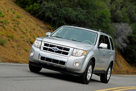 2009 Ford Escape Hybrid Limited Review & Test Drive