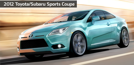 2012 Toyota/Subaru RWD Sports Coupe To Hit The Market