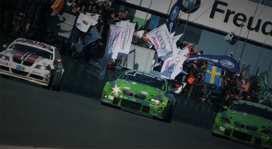 Alpina B6 GT3 at 24 Hours of Nurburgring Video