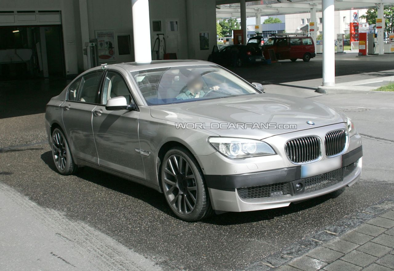 BMW M7 Spy Photos Developing A M Proved 7 Series