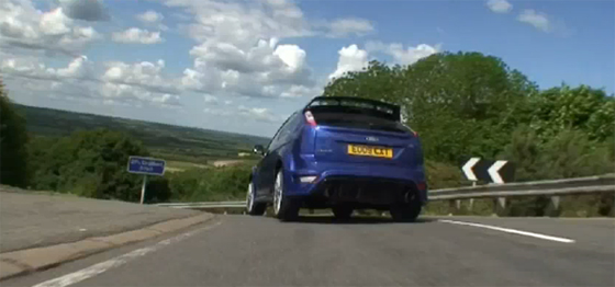 Ford Focus RS Chase Scene: Chasing a Focus RS – Video