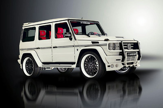 Hamann typhoon based mercedes benz g55 amg revealed for Mercedes benz jeep g class