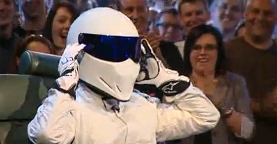 Top Gear: The Stig is Unmasked and Revealed as Schumacher
