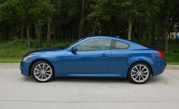 2009 infiniti g37 coupe journey sport review test drive. Black Bedroom Furniture Sets. Home Design Ideas