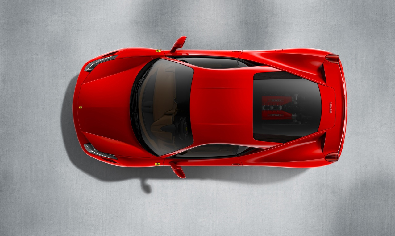 Announces the 458 Italia