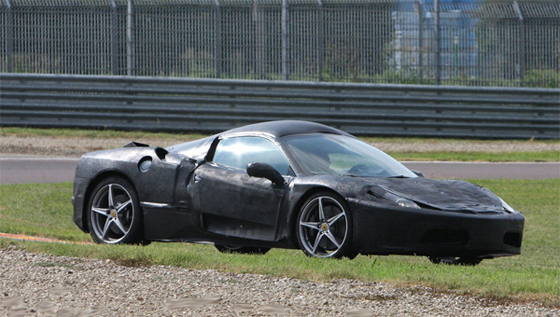 Spied: Ferrari F450 Prototype Full Body Spotted
