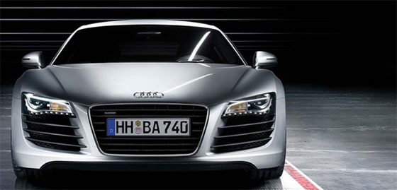 Spy Shots: Audi R8 V10 Spider spotted in filming of Iron Man 2