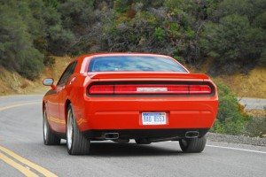 2009DodgeChallengerRTRearActionTwo01small