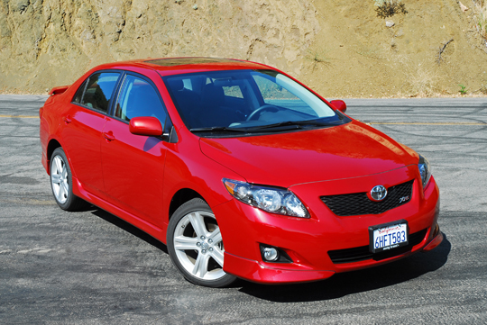 2009 Toyota Corolla XRS Review & Test Drive