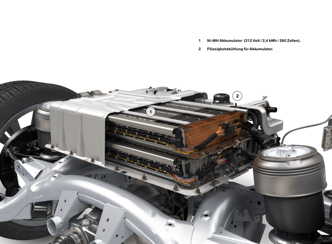 2010 Bmw X6 Activehybrid Battery