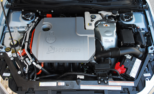 Ford Fusion Hybrid 2010