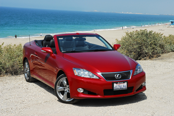 2010 Lexus IS 350C Convertible Review & Test Drive