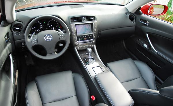 2010LexusIS350ConvertibleDashboard01small. 2010 Lexus IS 250 ...