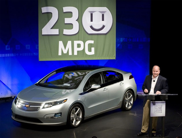Chevy Volt To Get 230 MPG – Seriously?