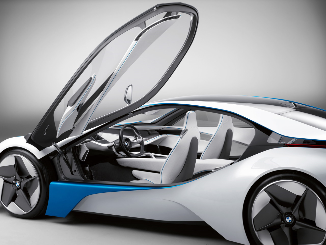 bmw vision efficientdynamics concept video revealed. Black Bedroom Furniture Sets. Home Design Ideas