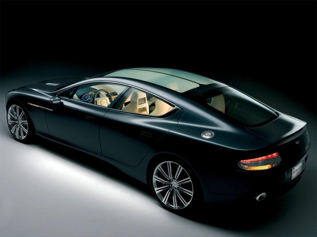 Aston Martin Rapide Interior Leaked - Aston martin 4 door
