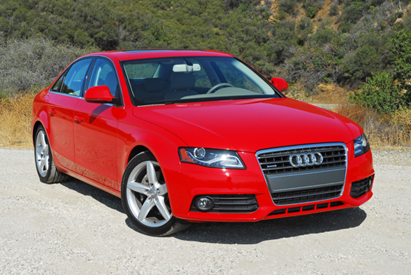 2009 audi a4 2 0t quattro review test drive. Black Bedroom Furniture Sets. Home Design Ideas