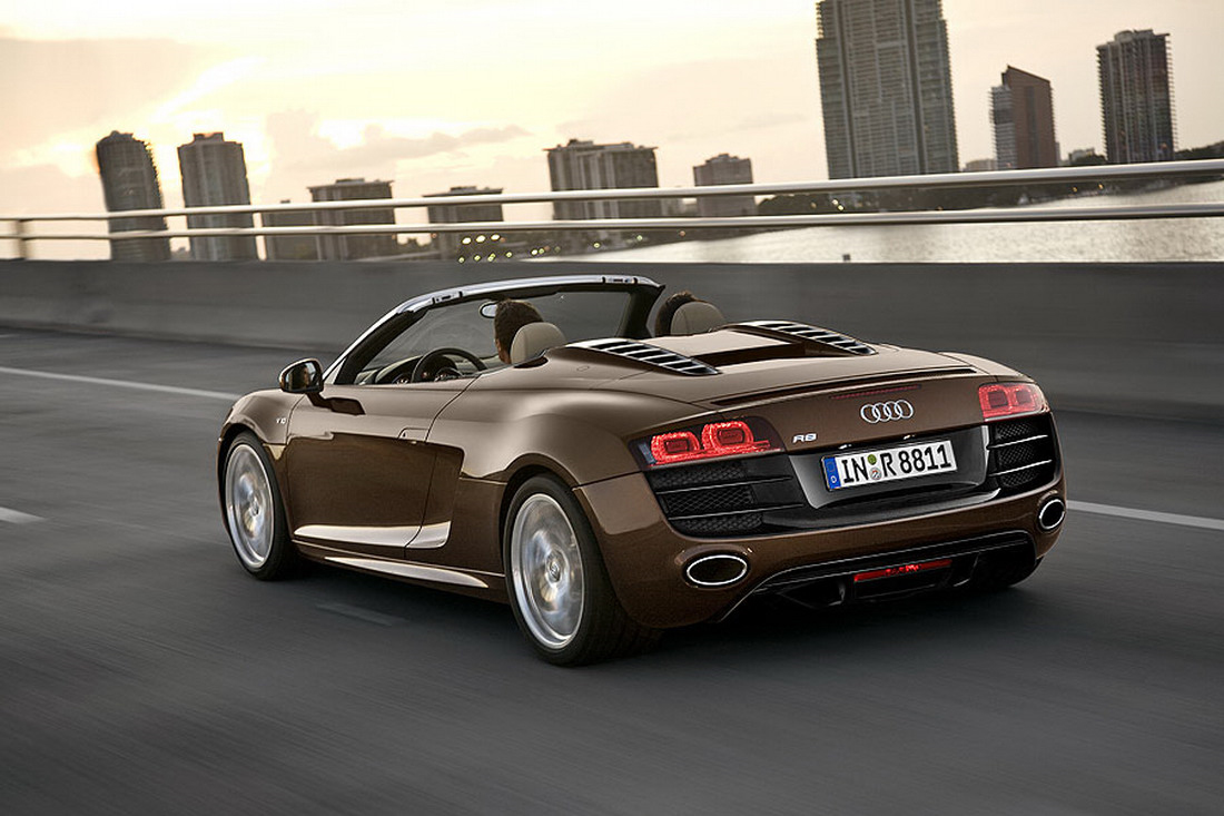 2010 audi r8 spyder official images leaked. Black Bedroom Furniture Sets. Home Design Ideas