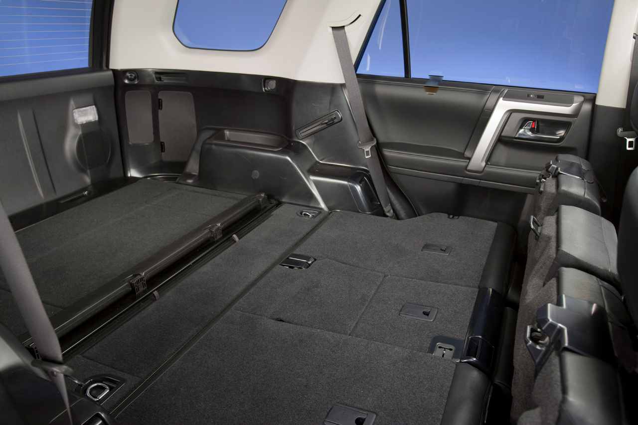 toyota four runner cargo dimensions. Black Bedroom Furniture Sets. Home Design Ideas