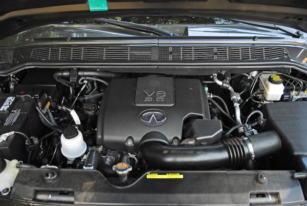 Infiniti qx56 hp