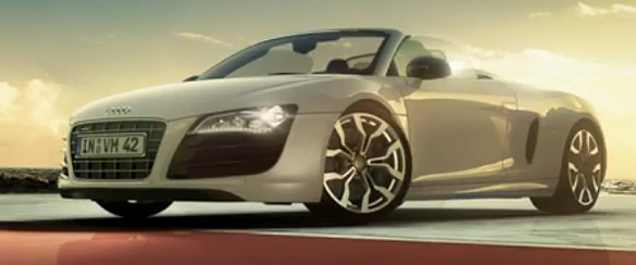 Audi R8 Spyder Promotional Video