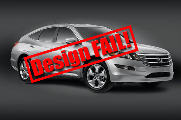 Ugly as Sin: Honda Crosstour A Design Fail?