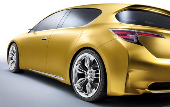 Frankfurt Motor Show Preview: Lexus LF-Ch Concept Premium Hatchback